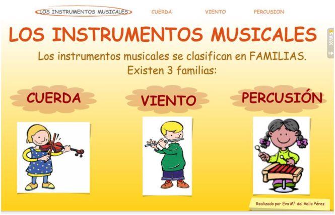 los_instrumentos_musicales_4º